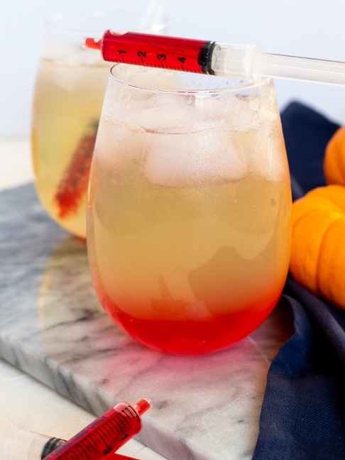Spooky Vampire Drinks are Kid Friendly Too!