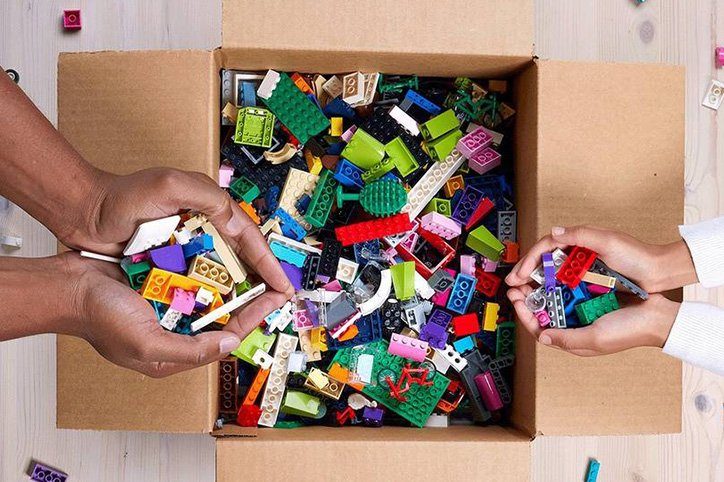 You Can Donate Old LEGOs Through LEGO Replay So Let The Decluttering Begin