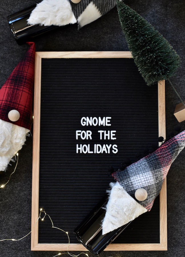 Gnome For The Holidays: Make A DIY Wine Bottle Topper