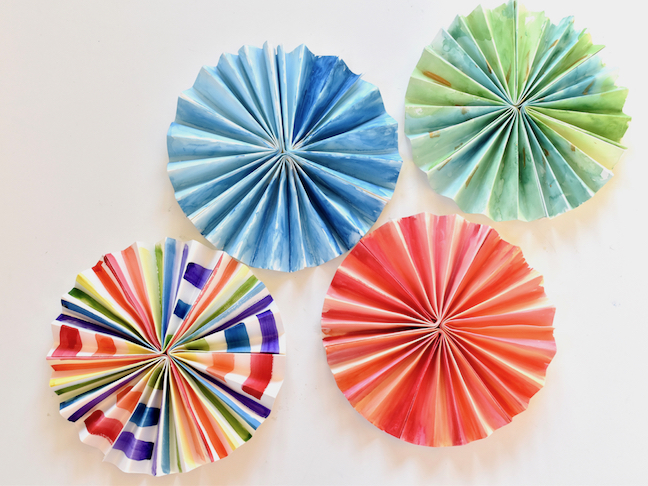 How To Make DIY Paper Pinwheels With Kids