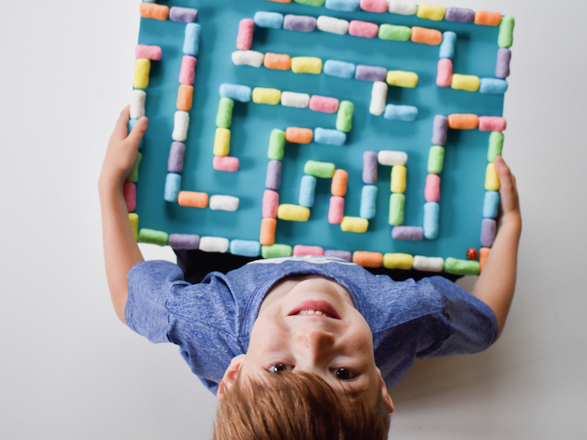 Playtime Magic Build A Magic Nuudle Marble Maze