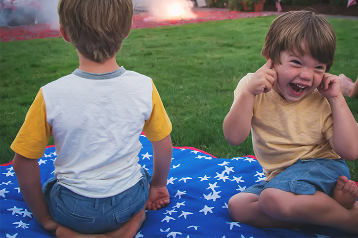 What it Is Really Like Taking Your Kids to See Fireworks