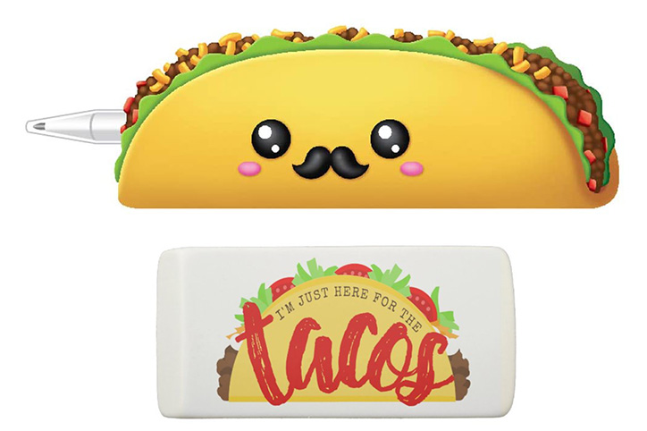 9 Taco-Themed School Supplies To Spice Up Your Kid's Life