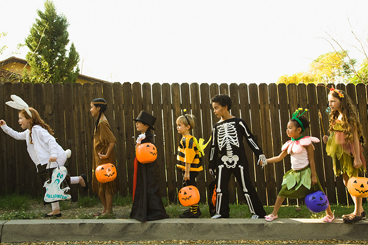 Hershey's Releases Halloween Map To Show Where Trick-Or-Treating Is Safe