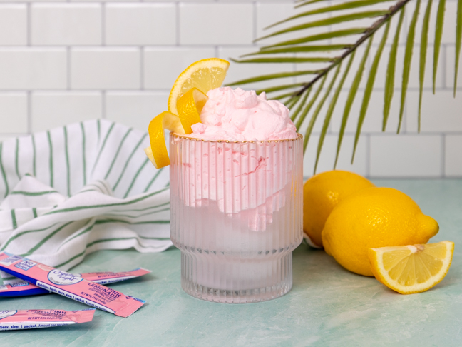 TikTok's Famous Whipped Lemonade Is The Perfect Summer Treat