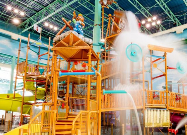 hotels with water parks