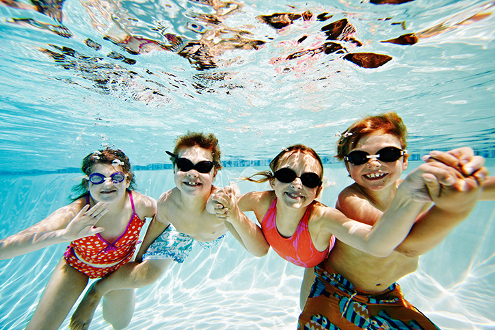 8 Fun Pool Games For Kids That Don't Require Equipment