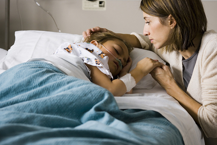 Mum Refuses to Leave Daughter Post-Surgery, Arrested for Hospital Trespassing
