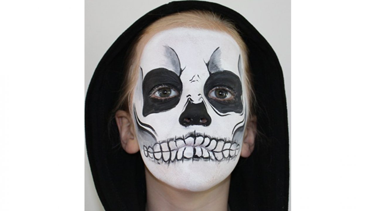 11 Halloween Face Paint Ideas With Easy To Follow Tutorials
