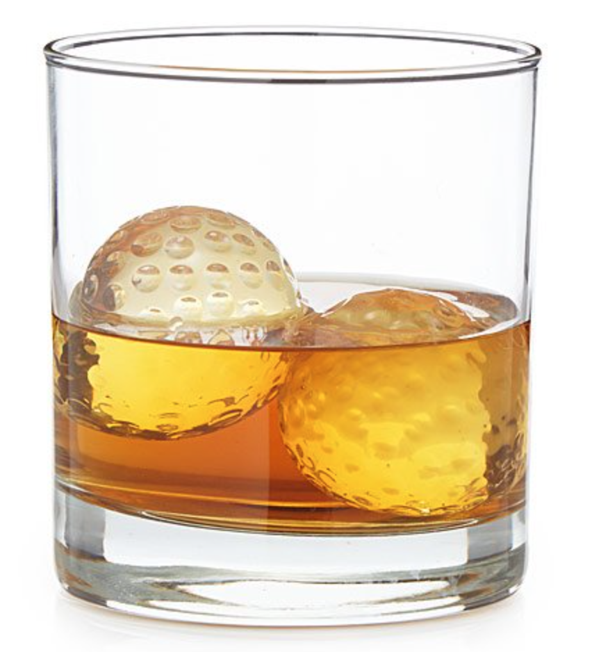 Golf Ball Whiskey Chillers