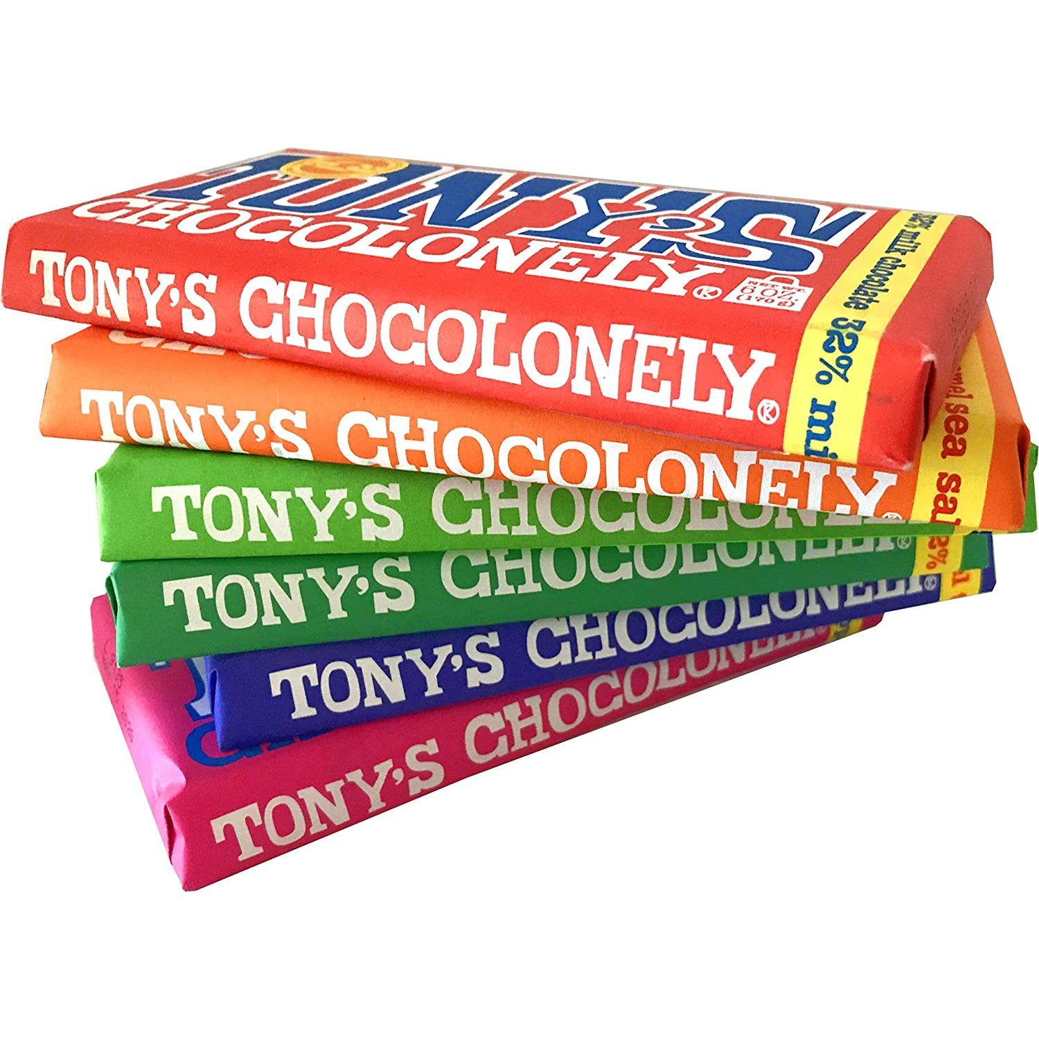 Tony's Chocolonely Six Pack Bundle