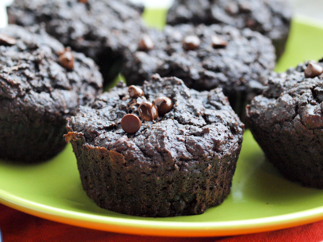 Chocolate Peanut Butter Muffins (With Carrot and Sweet Potato!)