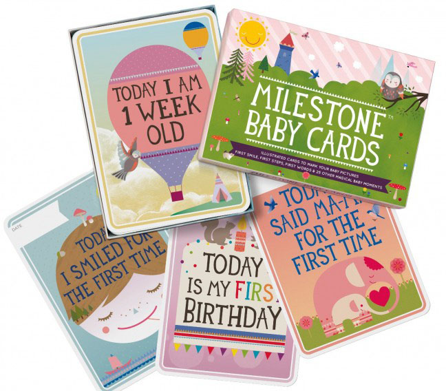 Milestone Cards or Stickers