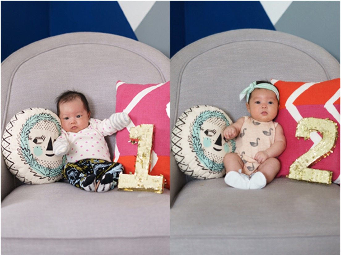 Absolutely Adorable Ideas For Month By Month Baby Photos