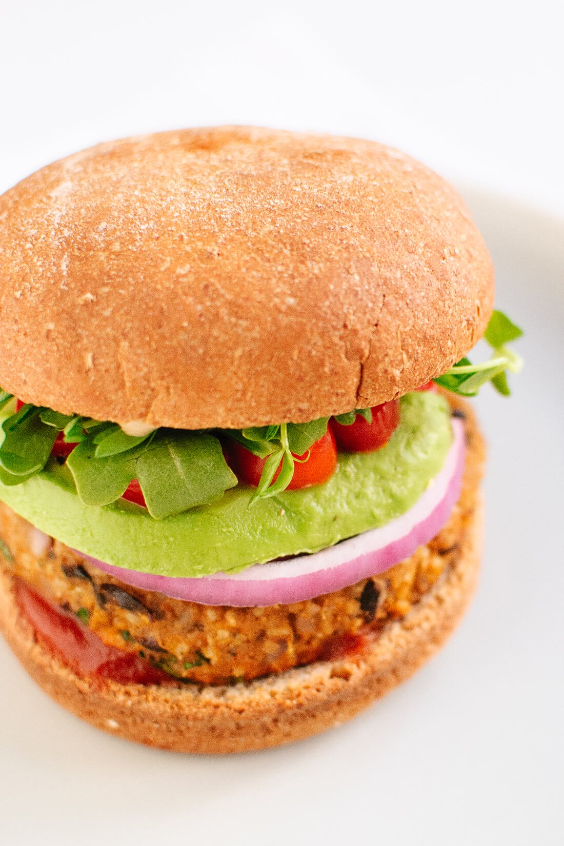 Sweet Potato & Black Bean Burger
