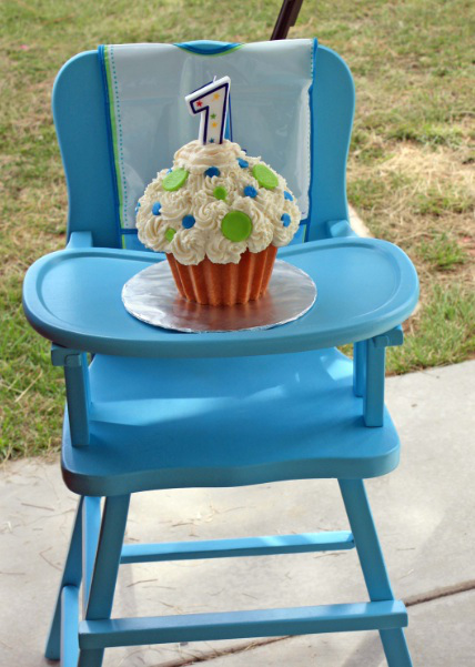 The Only Thing Better Than a Cupcake Is a Giant Cupcake