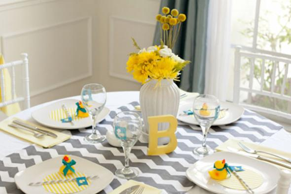 Yellow Monogram