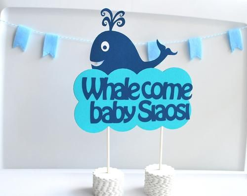 Whalcome Baby!
