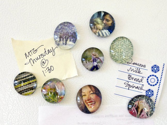 DIY Picture Magnets