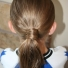 For School: Wrapped Ponytail