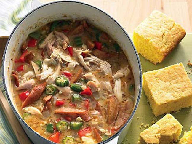 30-Minute Chicken Gumbo
