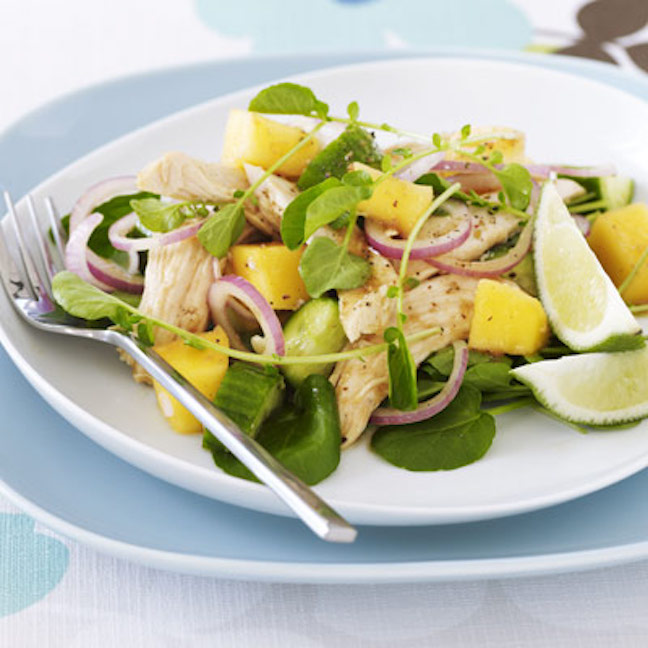 Asian Chicken and Mango Salad