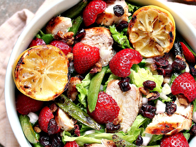 Chicken Salad With Strawberries