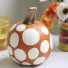 Paint Polka Dot Pumpkins
