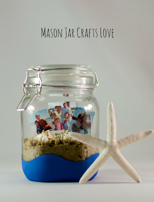 Put Vacation Beach Memories in a Jar
