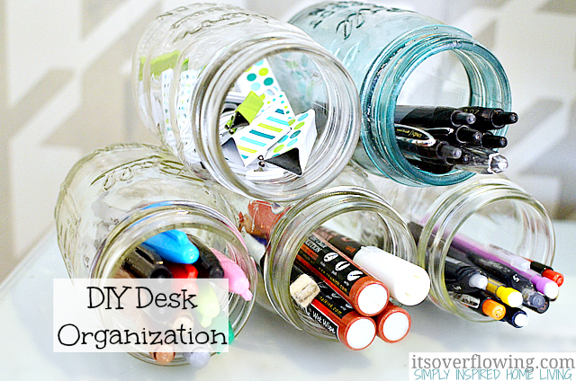 Helpful Desk Organization