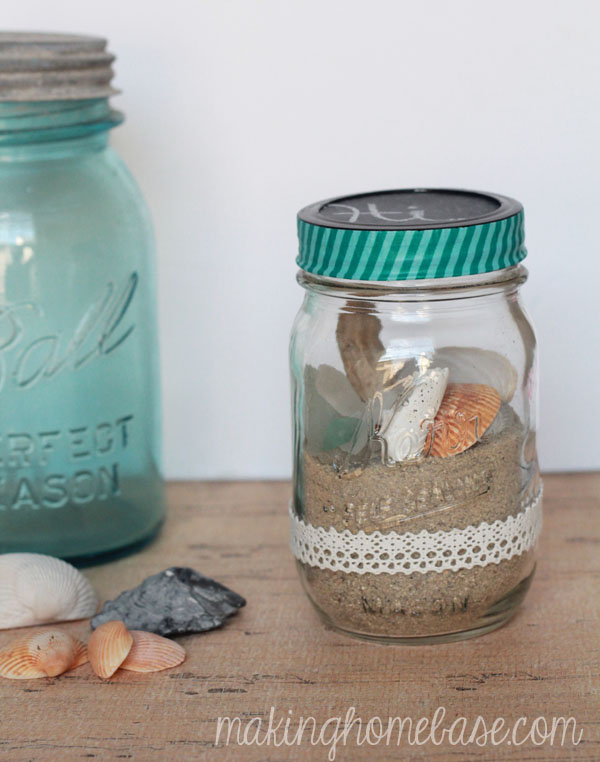 Make a Fun Beach Terrarium