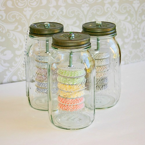 Home Storage: Twine Jars