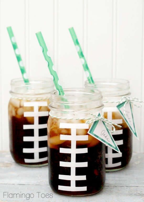 Entertain With: Football Cups