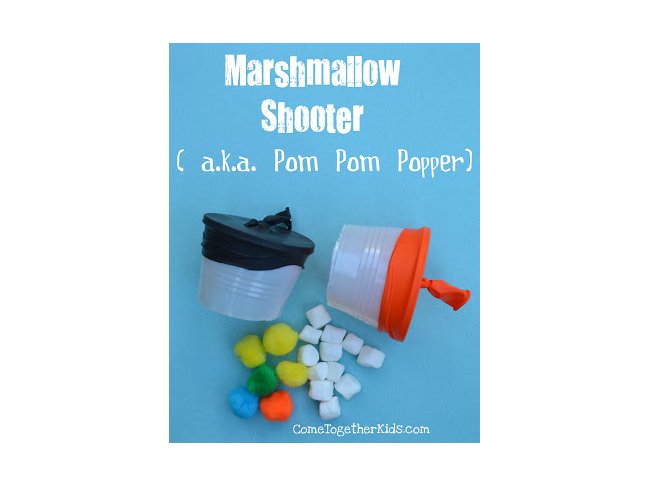 K-Cup Marshmallow Shooters