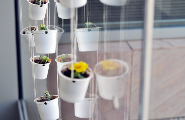 K-Cup Hanging Planters