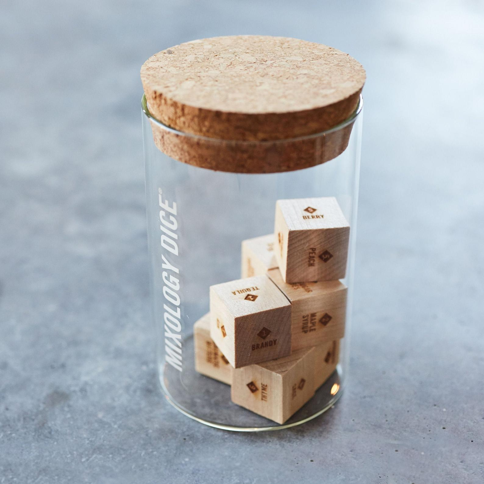 Mixology Dice Tumbler