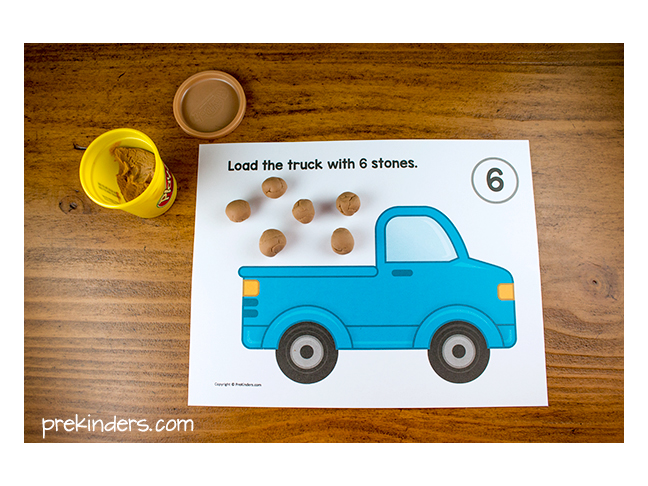 Play Dough Math