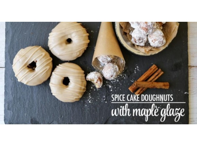 Sugar and Spice Donuts