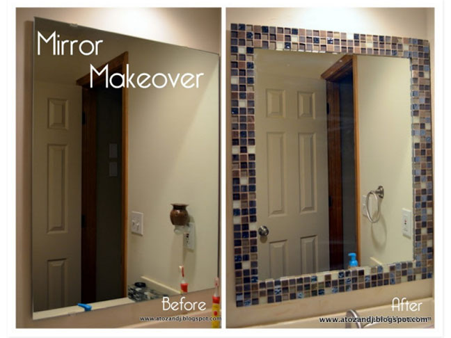 How To Frame A Bathroom Mirror, How To Make Frames For Bathroom Mirrors