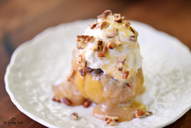 Grilled Bloomin' Apples