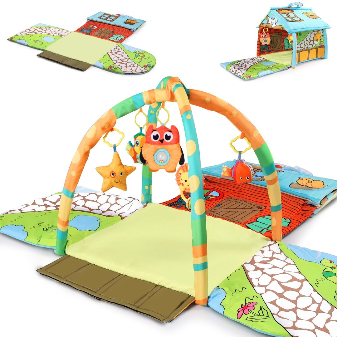 iPlay iLearn Baby Activity Gym Mat, $42.99