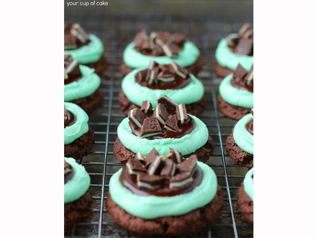 Ultimate Grasshopper Cookies