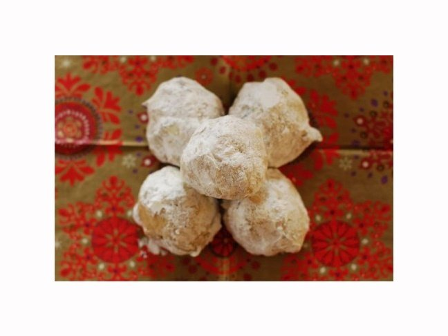 Spice Mexican Wedding Cookies