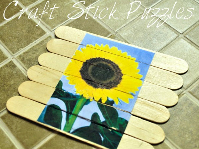 Craft Stick Puzzles