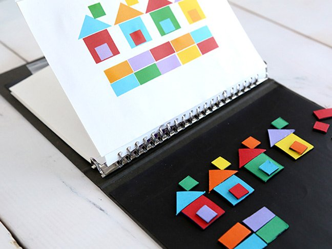 DIY Magnetic Patterns Book