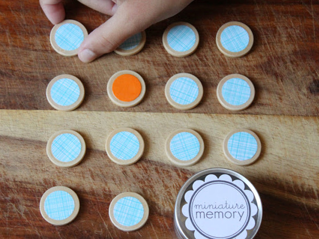 Miniature Memory Game