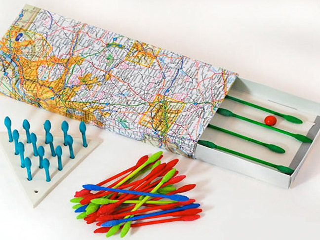 cotton bud Travel Games