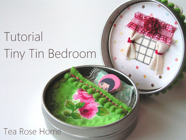Tiny Tin Bedroom