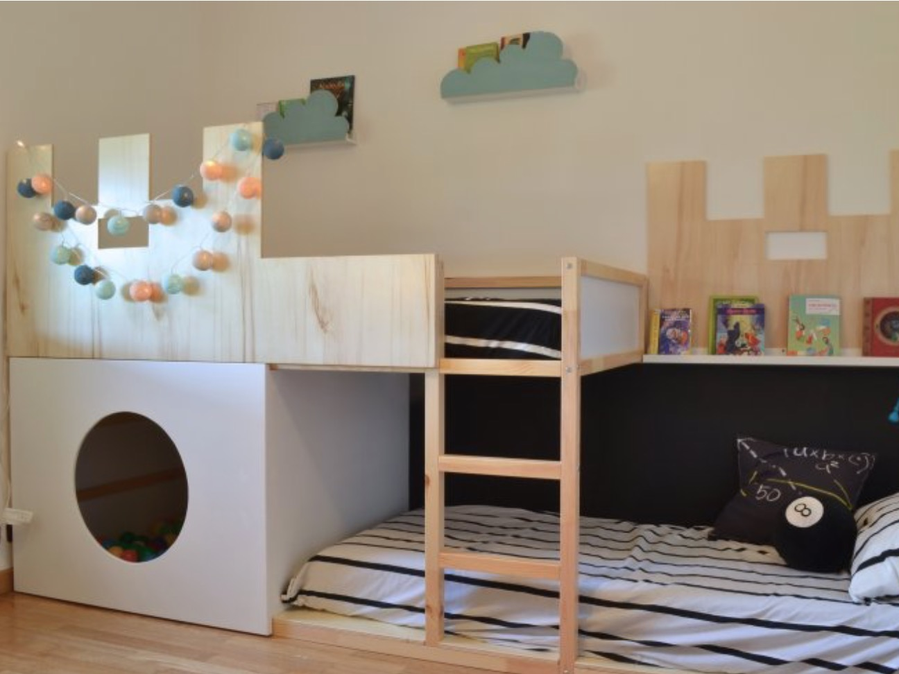Bunk Bed With Desk Diy Marcuscable Com