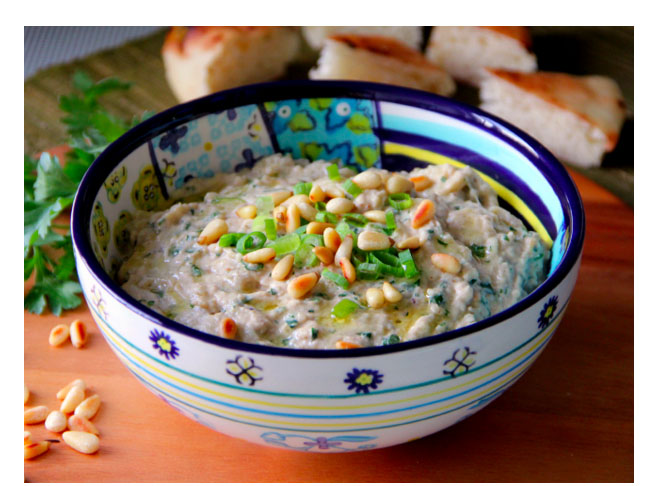Fire Roasted Eggplant Dip
